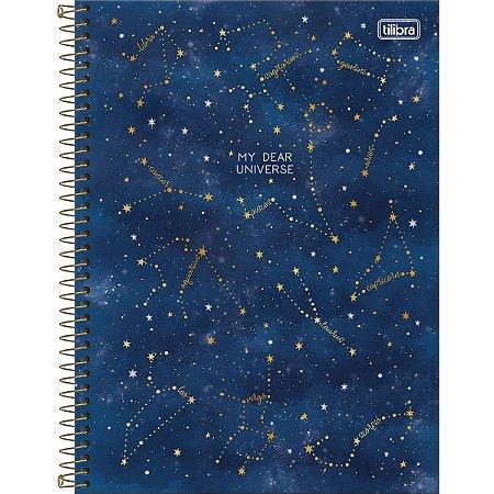 Caderno Universitário 10 Materias Tilibra Magic My Dear Universe