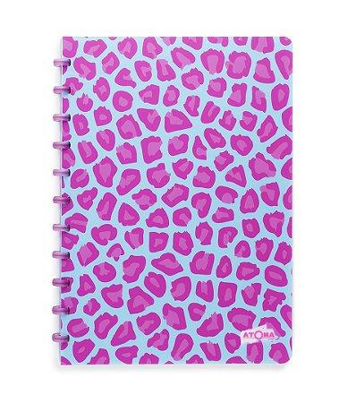 Caderno Atoma Leopard A4