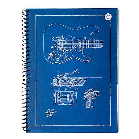 Caderno universitario Cicero Guitarra