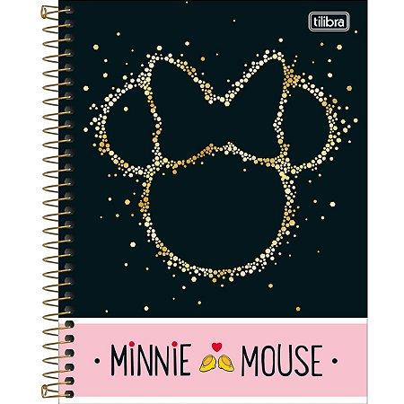 Caderno Colegial Tilibra Minnie Mouse 1 Materia