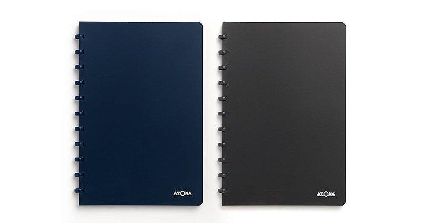 Caderno Atoma PolyPro Quadriculado