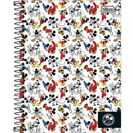 Caderno Colegial Tilibra Mickey 90 Anos Fantasia 1 Materia