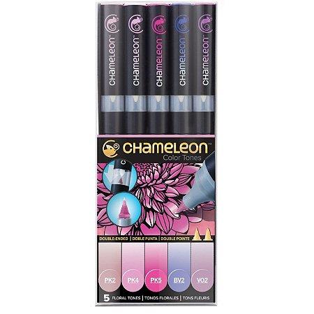 Marcadores Chameleon Color Tones - Tons Florais