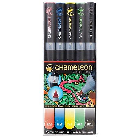 Marcadores Chameleon Color Tones - Cores Primárias