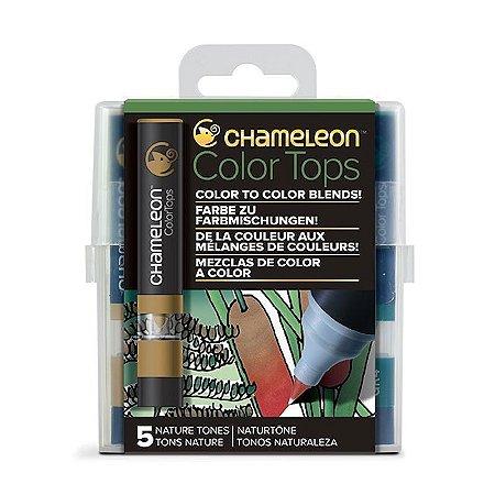 Marcadores Chameleon Color Tops - Tons da Natureza