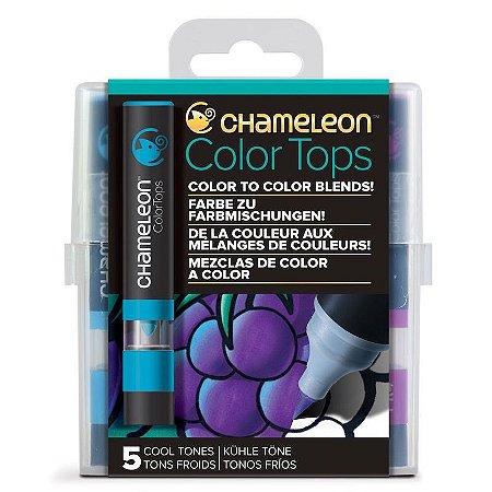 Marcadores Chameleon Color Tops - Cores Frias