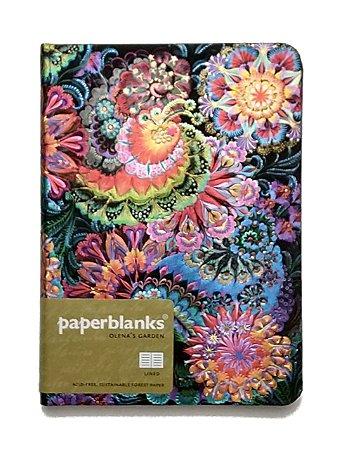 Caderno Premium Paperblanks Olena´s Garden Moonlight