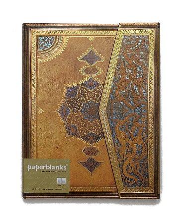 Caderno Premium Paperblanks Safavid Binding Art