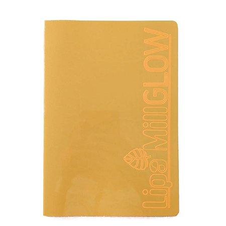 Caderno MarMar Glow A4 Pautado Laranja