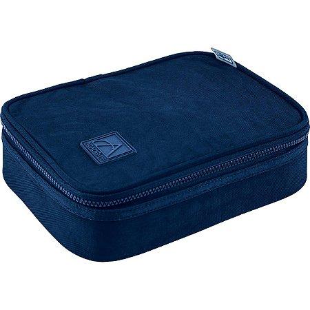 Estojo 100 Pens Tilibra Academie Box Azul