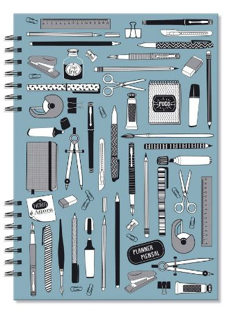 Planner Compacto Mensal Office Fina Ideia
