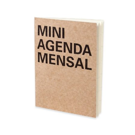 Mini Agenda Mensal Cicero Kraft A6