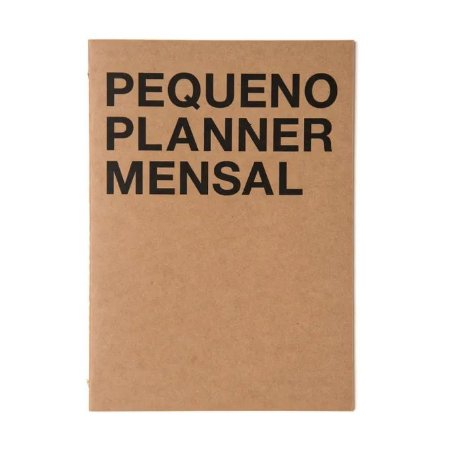 Pequeno Planner Mensal Cicero Kraft A5