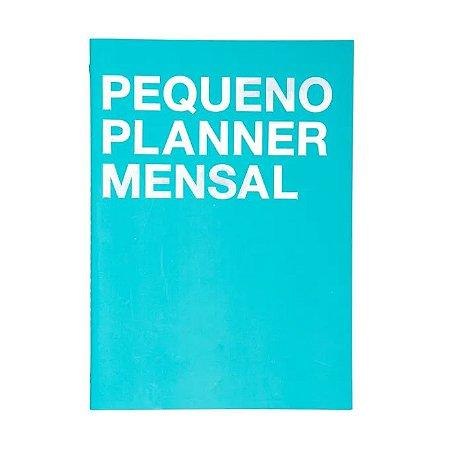 Pequeno Planner Mensal Cicero Azul A5