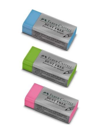 Borracha Faber Castell Dust Free Colors