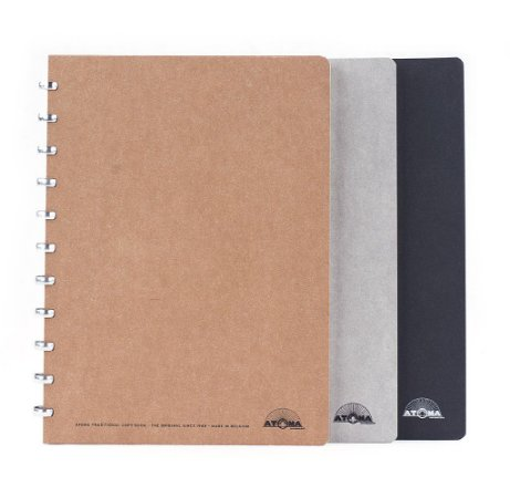 Caderno Atoma Amazing Pautado A4