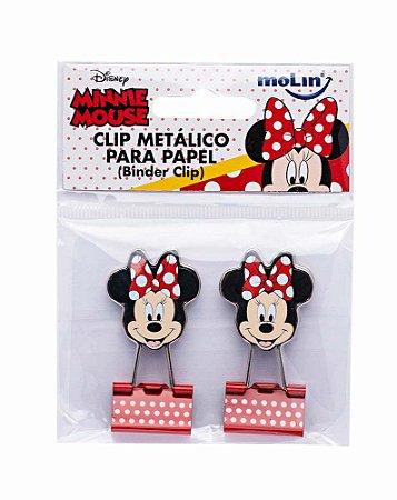 Clips de Papel Binder Minnie Molin Kit c/ 2