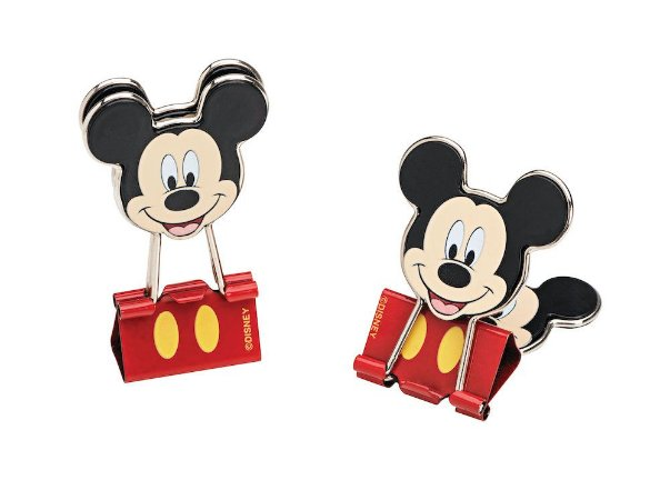 Clips de Papel Binder Mickey Molin Kit c/ 2