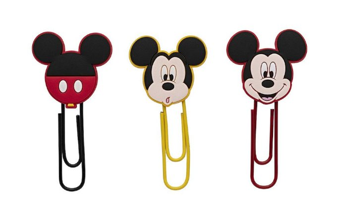 Clips de Papel Mickey 50mm Molin Kit c/4