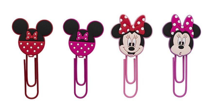 Clips de Papel Minnie 50mm Molin Kit c/4
