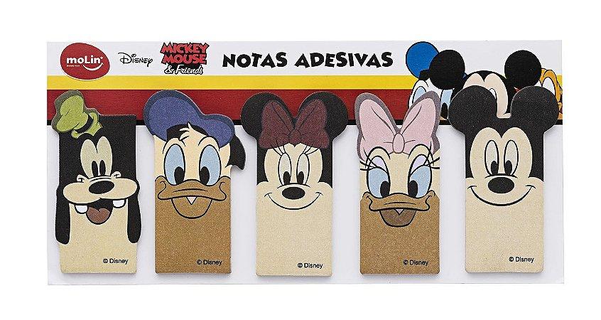 Bloco de Adesivos Marcador de Paginas Disney 125 Folhas