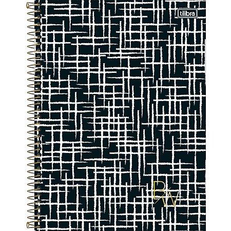 Caderno Tilibra B&W Universitario 10 Materias Coleção 2020