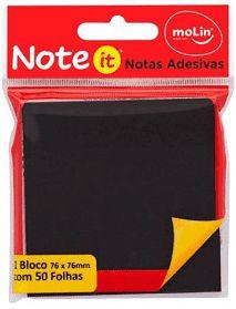 Notas Adesivas Black 76MMX76MM -C/50 FLS