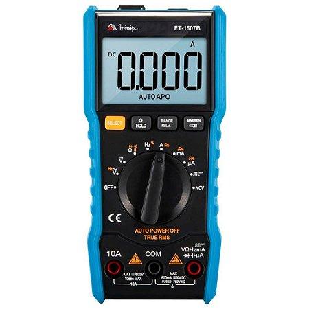 ET-1507B MULTIMETRO DIGITAL LCD CAT III 600V MINIPA