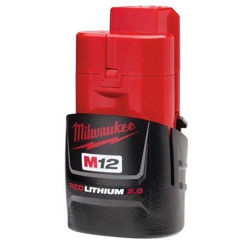 Bateria de 12V de Íons de Lítio 2,0Ah M12 Milwaukee 48-11-2659
