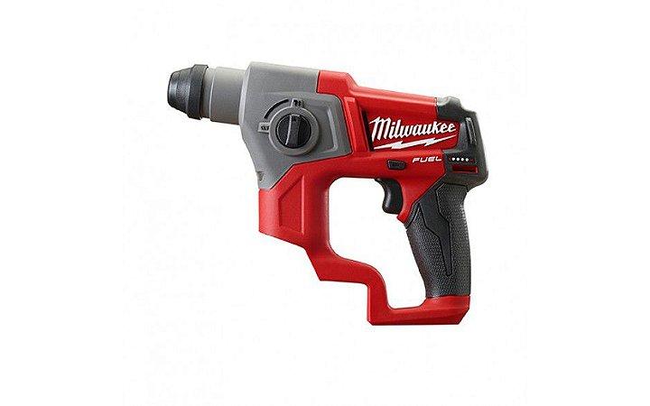 Martelete a Bateria Milwaukee 2416-059 Fuel Rotativo 12V M12 - Não Acompanha Bateria e Carregador