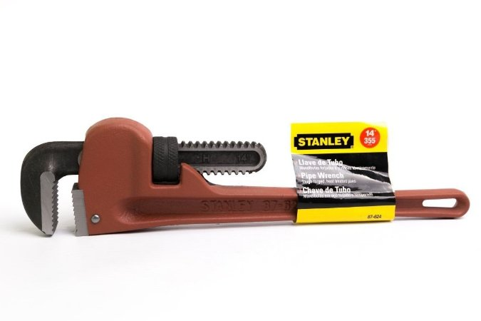 """CHAVE PARA TUBO 14"""" - STANLEY-87624"""
