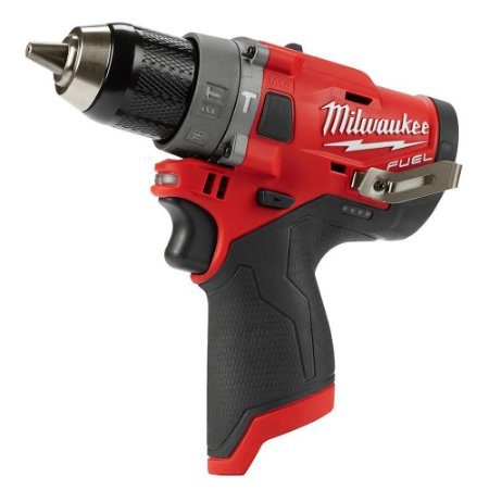 """Parafusadeira/Furadeira Impacto 1/2"""" Milwaukee 12V M12 2504-20 FUEL"""
