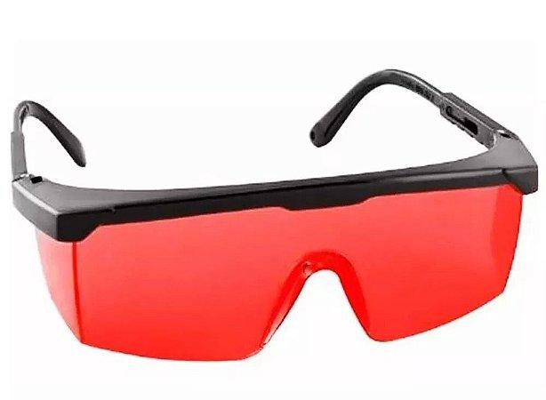 688a4868fccc7 Óculos Vermelho para Visualização de Laser - Danpler Máquinas ...