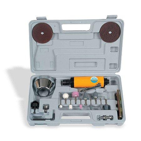 """Kit Retífica pneumática de 1/4"""" CH R-12K Chiaperini"""