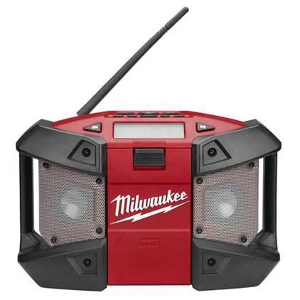 RADIO DE TRABALHO A BATERIA M12 SOMENTE APARELHO MILWAUKEE 2590-59