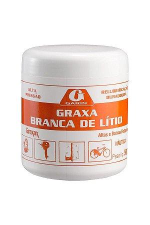 GRAXA BRANCA DE LÍTIO GRAXAX GARIN 500G