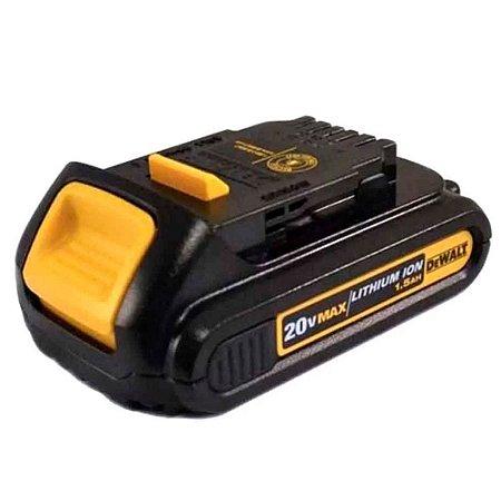 BATERIA 20V 1,5AH LITIO MAX DEWALT N608412 DCB201 DCD780 DCD785