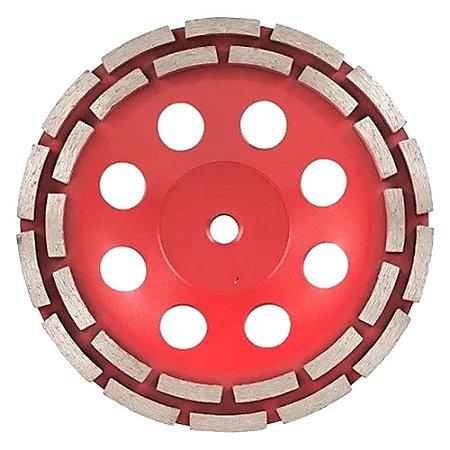 Disco Desbaste Diamantado Segmentado 180mm M14 Cortag 61756