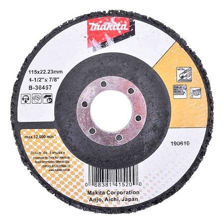 B-36457 DISCO FLAP DE LIMPEZA MAKITA STRIP DISC 115X22