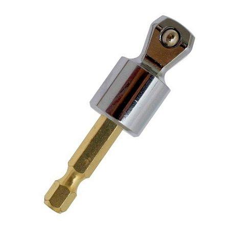 Adaptador P/ Soquete Makita 1/4x1/2 75mm Impact Gold B-28553