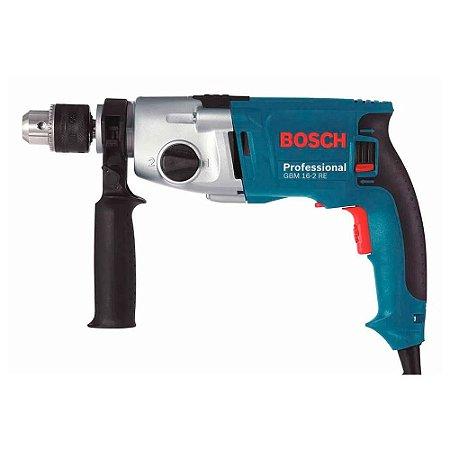Furadeira S/ Impacto 1/2 Bosch Gbm16-2re 800w C/ 2 Vel. 220v
