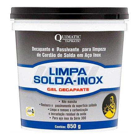 Gel Decapante Passivante Limpa Solda Inox Ls1 Quimatic 850g