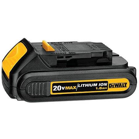 Bateria Compact 20V 1.5Ah Li-Íon - DEWALT-DCB201-B3