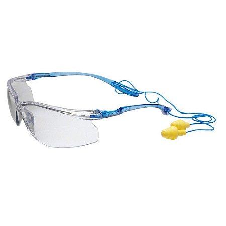 Oculos 3m Virtua Ccs Incolor In/out Compativel C Pomp Plus