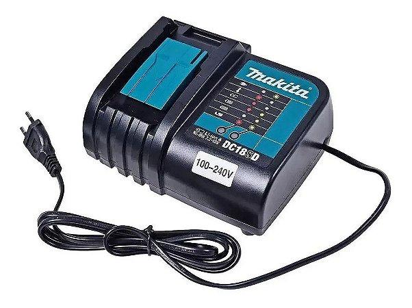 Carregador Baterias 7.2v À 18v Dc18sd Makita Bivolt 197934-7