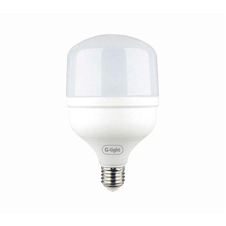 Lâmpada Led bulbo T100 40w bivolt luz branca e27 Glight