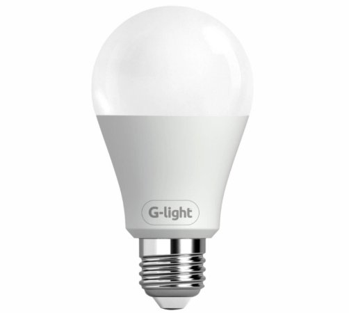 Lâmpada Led bulbo A60 6.5w bivolt luz branca e27 Glight