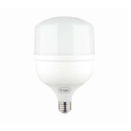 Lâmpada Led bulbo T120 50w bivolt luz branca e27 Glight