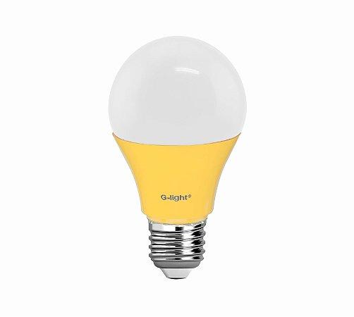LAMPADA LED BULBO A60 6W BIVOLT ANTI-INSETO E27 GLIGHT