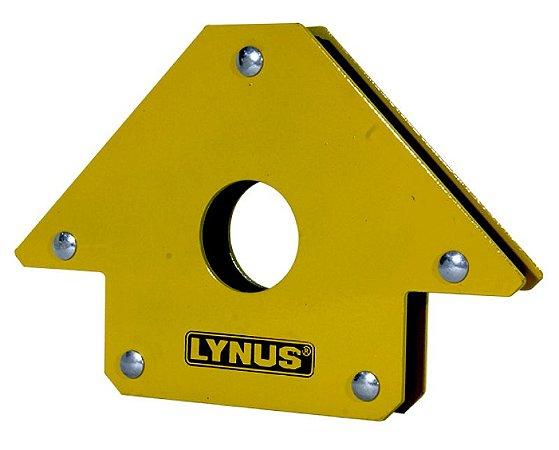 Esquadro Magnético Robusto para Soldador 35kg Lynus